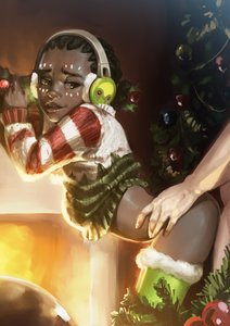 Rating: Questionable Score: 47 Tags: 1boy 1girl african_female ass dark_skin dark-skinned_female efi_oladele from_behind healthy_slim&young_body jcm2 loli not_edited overwatch smile thick_thighs thigh_highs User: Drax333