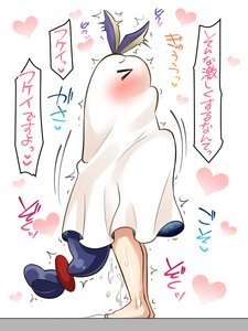 Rating: Questionable Score: 15 Tags: blush bunny_ears cum cumdrip fate_(series) implied_sex nitocris standing straddling straight User: Gognar