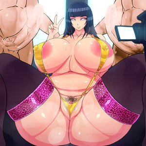 Rating: Explicit Score: 27 Tags: 1_1_aspect_ratio 1girl 2boys asian_female ass bbw belly bikini blue_hair breasts clitoris female_pubic_hair highres hinata_hyūga huge_ass huge_breasts imminent_sex import legwear leopard_print looking_at_viewer mismatched_pubic_hair mmf_threesome naruto_(series) peace_sign pink_eyes plump pubic_hair pussy_flossing skin_edit sweat thicc thick_thighs thigh_highs threesome venus_body_type wide_hips User: Hana