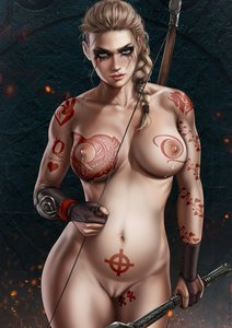 Rating: Explicit Score: 24 Tags: abs aryan_female assassin's_creed assassin's_creed_valhalla blonde_hair blue_eyes bow braided_hair breast_milk breasts celtic_cross dandon_fuga eivor heart_vine_tattoo nude nude_female pregnant pussy queen_of_hearts_tattoo shaved_pussy tattoo tattoos thick_thighs toned_female User: TheWhiteFlash