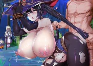 Rating: Explicit Score: 30 Tags: 1boy 2girls <3_eyes asian_female black_hair blonde_hair blue_eyes blush bondage breasts cuckquean doggy_style from_behind genshin_impact gloves hair_pulling hat huge_breasts long_hair lumine_(genshin_impact) mona_(genshin_impact) muscular muscular_male nipples :o open_mouth pierced_nipples piercings ripped_clothing sex skin_edit sweat tears thick_thighs tnolize vaginal_penetration white_female white_male witch User: KAZANOVA