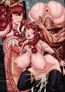 Rating: Explicit Score: 12 Tags: ahegao alexstrasza anus_peek aspect blizzard bwc cum_inside dragon_girl glowing_eyes impregnation nervous older_female red_hair titty_fuck world_of_warcraft x-ray User: Revenant