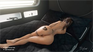 Rating: Explicit Score: 9 Tags: anal_plug ass bifrost brown_hair edit guns lara_croft lying_on_bed pussy queen_of_hearts_tattoo tattoo tattoos tomb_raider vagina User: godswork