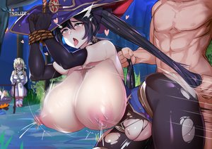 Rating: Explicit Score: 30 Tags: 1boy 2girls <3_eyes asian_female black_hair blonde_hair blue_eyes blush bondage breast_milk breasts cuckquean doggy_style from_behind genshin_impact gloves hair_pulling hat huge_breasts long_hair lumine_(genshin_impact) mona_(genshin_impact) muscular muscular_male nipples open_mouth pierced_nipples piercings ripped_clothing sex skin_edit sweat tears thick_thighs tnolize tongue_out vaginal_penetration white_female white_male witch User: KAZANOVA